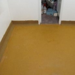 Polyurethane floor screed and coved skirting North East