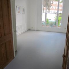 Poured resin comfort flooring London