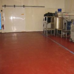 Seamless Food Grade Resin Flooring North East England
