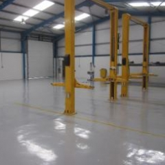 Epoxy Workshop Floor Coatings North East England