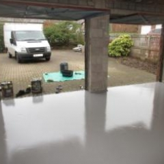 Domestic Garage Floors Gamblesby Penrith Cumbria