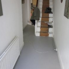 Residential poured resin flooring London