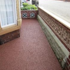 Resin Bound Surfacing Newcastle domestic property
