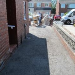 Driveway resurfacing with Resin Bound South Tyneside