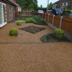 Resin bound paving Northumberland Resin Floors