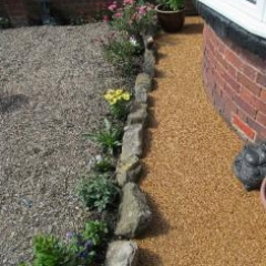 Decorative resin bound gravel surfaces Northumberland