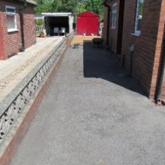 Resin bound surfacing Newcastle Upon Tyne resin paving