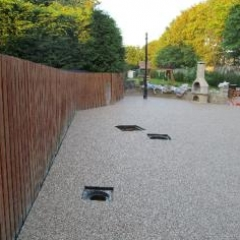 Resin bound patio Tynemouth resin flooring resin drives