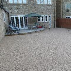 Resin bound patio surfaces County Durham domestic