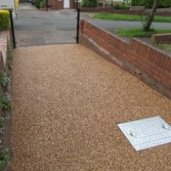 Resin flooring North Shields decorative aggregates