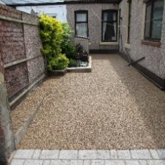 Resin Bound Bonded Paving Roker Sunderland Tyne Wear