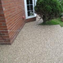 Resin exteriors paving driveways surfaces Sunderland