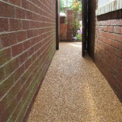 resin bound pathway surfacing in Fulwell Sunderland