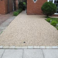 Resin bound surfacing Tynemouth North Tyneside