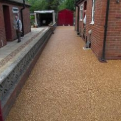 Resin bound gravel driveways Newcastle Upon Tyne