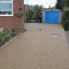Domestic resin bound paving Northumberland