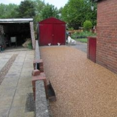 Resin bound driveway surfacing Northumberland