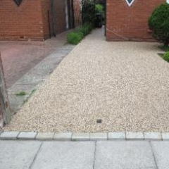 Resin bound driveway North East resin bound paving