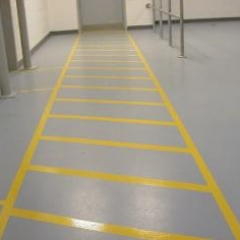 Seamless epoxy flowable flooring Tyneside resin floor
