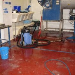 Seamless polyurethane flooring North East of England