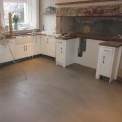 Seamless microscreed flooring North East of England