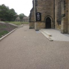Gravel surface coatings driveways surfaces Durham