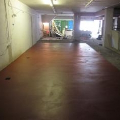Resin flooring Newcastle Upon Tyne retail installation