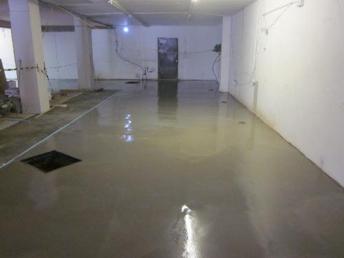 Industrial flooring Newcastle flowable floor screeds